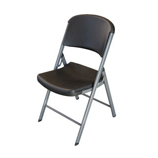 Classic Commercial  Black 4-pack Folding Chairs