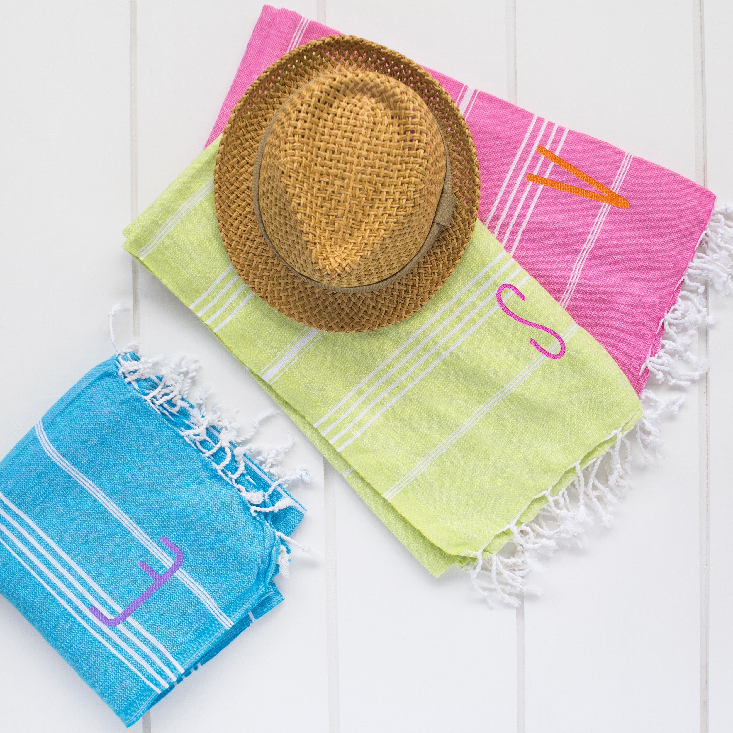 Cathy's Concepts Personalized Green Turkish Towel (M) (Tu...