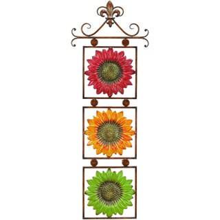 Metal Sunflower Decor
