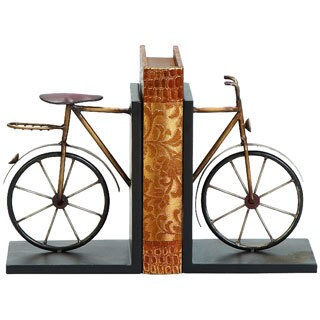 Carbon Loft Kellogg Metal Bicycle Bookend (Set of 2)