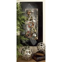 Studio 350 Metal Wall Decor Set of 2, 32 inches high, 16 inches wide