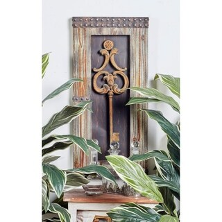 Wood/ Metal Wall Decor