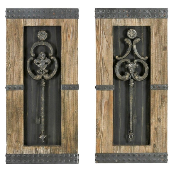 Shop Wood/ Metal Wall Decor - Free Shipping Today ...