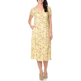 Link to La Cera Women's Floral Printed Button Down Dress Similar Items in Women's Plus-Size Clothing