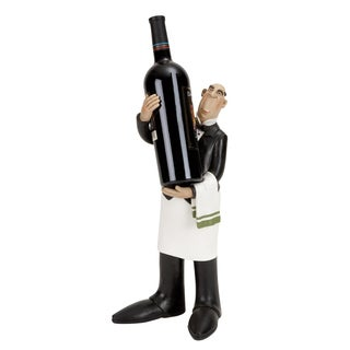 White/ Black Polystone Chef