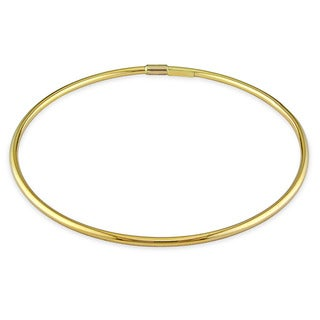 Miadora 14k Yellow Gold Slip-on Bangle Bracelet
