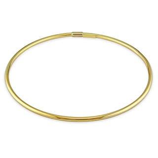 Miadora 14k Yellow Gold Slip-on Bangle Bracelet