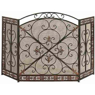 Metal Fashion Partition Fire Screen