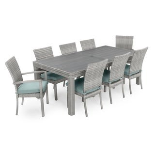 Cannes Woven Dining Set by RST Brands (Option: Green)