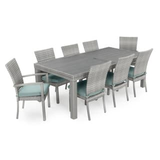 Cannes Woven Dining Set by RST BrandsOutdoor Dining Sets   Shop The Best Patio Furniture Deals for Nov  . Outdoor Furniture Dining Sets. Home Design Ideas