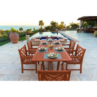 Havenside Home Surfside Havenside Home Surfside Eco-friendly 7-piece Wood Dining Set