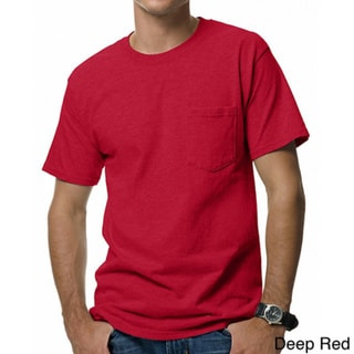 Hanes Men's Beefy-T Pocket T-Shirt