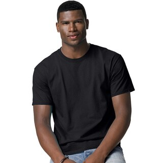 Hanes Men's Tagless Crew Neck T-Shirt