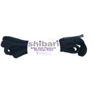 Shibari Silky Soft Bondage Rope 5 Meters (Black)