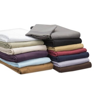 Cozzeque Collection Embroidered Premier 1800 Series Soft 4-piece Bed Sheet Set
