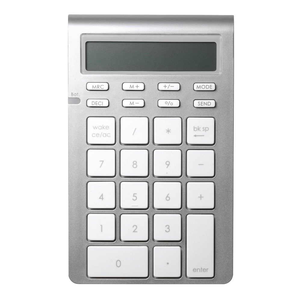 Satechi Bluetooth Wireless Smart Keypad (Silver) #ST-WKP31
