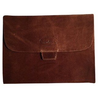 Sharo ip-200 Brown hi-gloss Leather iPad Cover