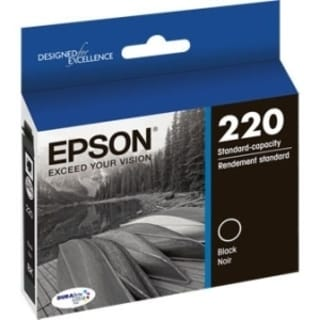 Epson DURABrite Ultra Ink T220 Original Ink Cartridge - Black