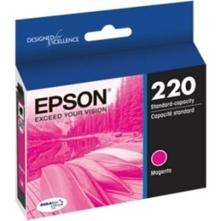 Epson DURABrite Ultra Ink T220 Original Ink Cartridge - Magenta