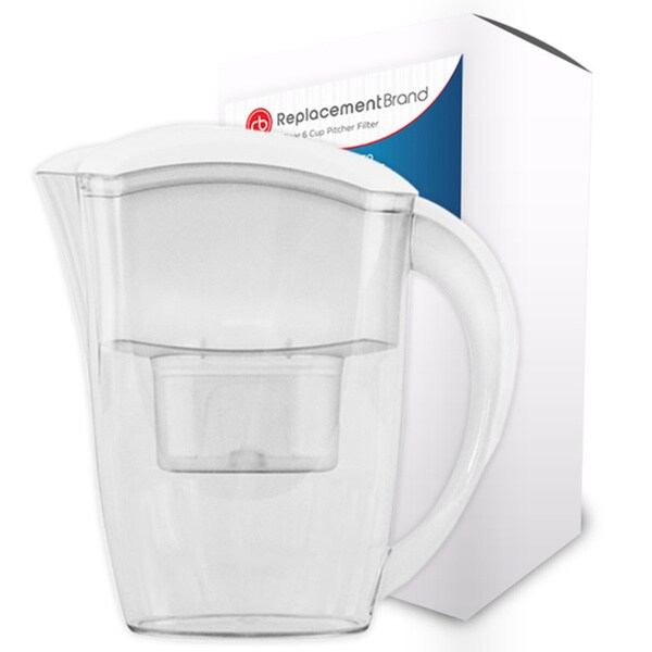 Brita Comparable 6 Cup Water Pitcher for the Clear 6 Cup Pitcher - White