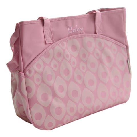 Multi-pocket Baby Diaper Tote Bag