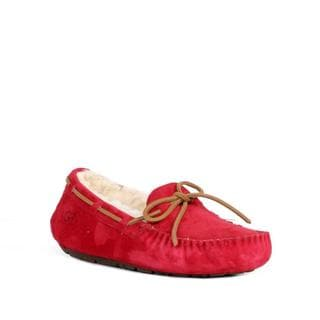 Ugg Women's Dakota Jester Red Slippers
