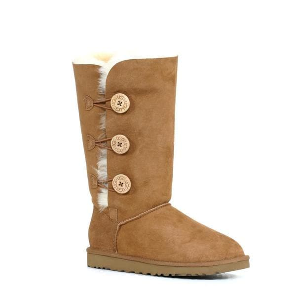 Ugg Women's Bailey Button Triplet Chestnut Boots