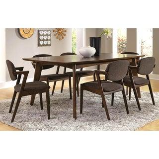 Nice Romm Mid Century Modern 7 Piece Dining Set