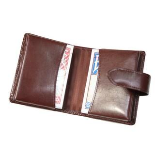 Royce Aristo Leather Double Decker Playing Card Set (Option: British Tan)
