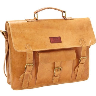 Sharo Leather Laptop Computer Brief Bag