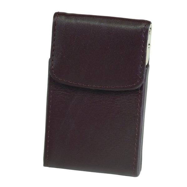 Royce Leather Genuine Leather Vertical Framed Card Case