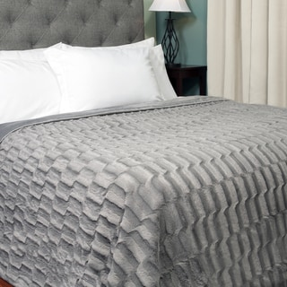 Exotic Mink Faux Fur Blanket