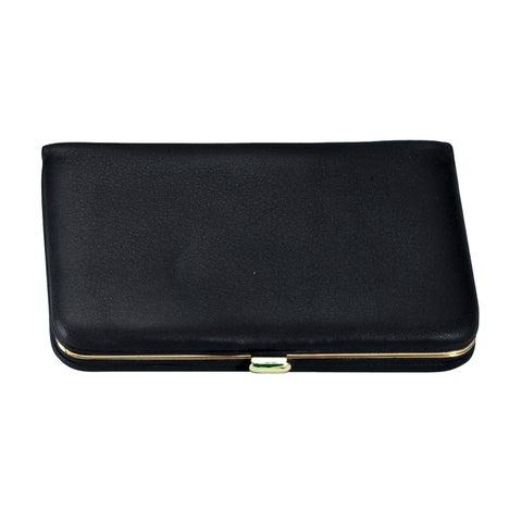 Royce Genuine Leather Framed Business Card Case