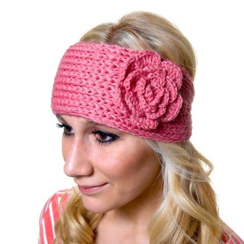 Women's Acrylic Crochet Headband