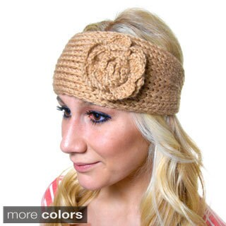 Women's Acrylic Crochet Headband (4 options available)