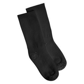Hanes Boys Crew Comfortblend Black EZ Sort Socks (Pack of 6)