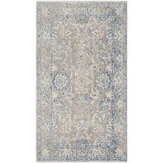 Safavieh Patina Taupe/ Blue Rug (3' x 5')