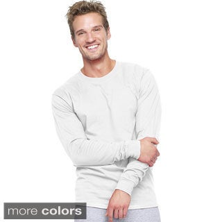 Hanes Adult Beefy-T Long-Sleeve T-Shirt (More options available)