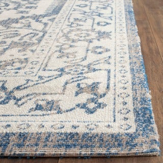 Safavieh Patina Light Grey/ Blue Rug (3' x 5')