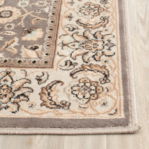 Safavieh Persian Garden Grey/ Ivory Viscose Rug (4' X 5'7