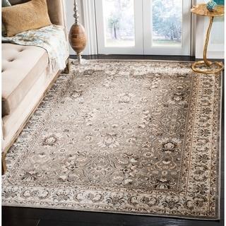 Safavieh Persian Garden Grey/ Ivory Viscose Rug (6'7 x 9'2)