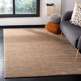 Safavieh Vision Contemporary Tonal Light Brown Area Rug (4' x 6')