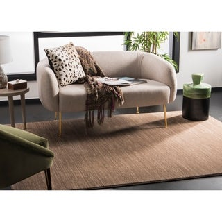 Safavieh Vision Contemporary Tonal Light Brown Area Rug (5' 1 x 7' 6)