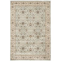 Safavieh Persian Garden Light Blue/ Ivory Viscose Rug - 5'1 x 7'7
