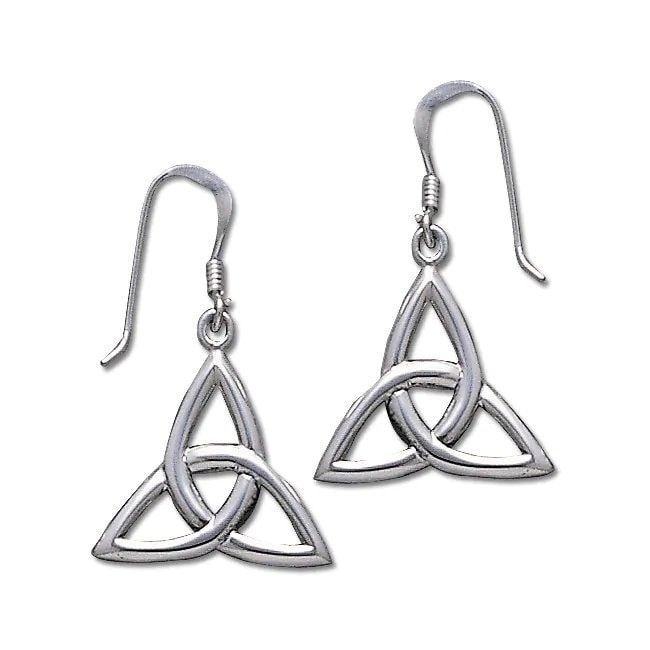 Carolina Glamour Collection Sterling Silver Celtic Trinit...