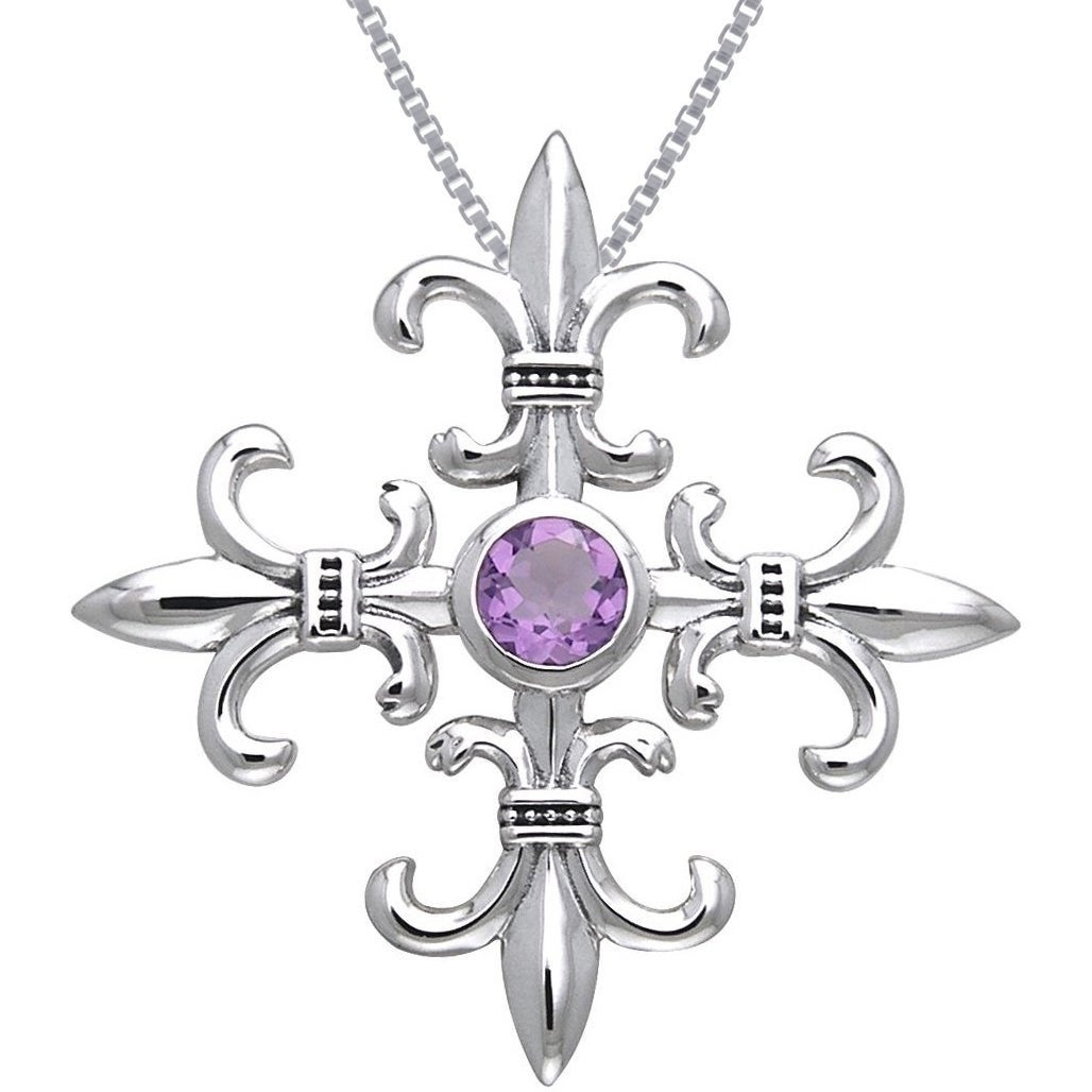Carolina Glamour Collection Sterling Silver and Amethyst ...