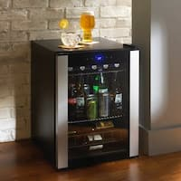 Wine Enthusiast Evolution Series Black Beverage Center