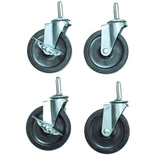 Offex C4 4-inch Heavy Duty Stem Casters