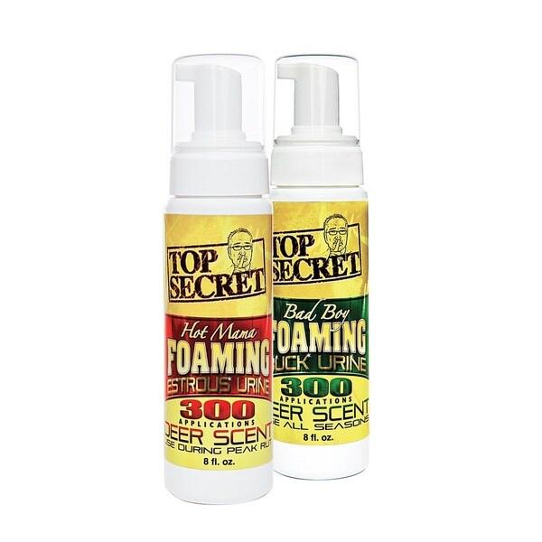 Top Secret Buck Chasing Doe Foaming Deer Urine Combo