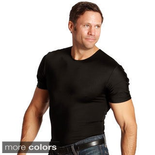 Insta Slim Compression Crew Neck Shirts (Pack of 6)